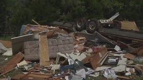 Round Mountain RV park residents begin recovery effort after EF-1 tornado
