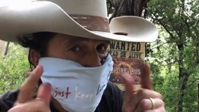 Bobby Bandito, better known as Matthew McConaughey, shows you how to make a bandana mask