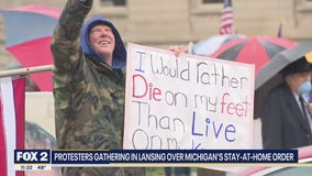 Second wave of protests hit Lansing capitol on Thursday