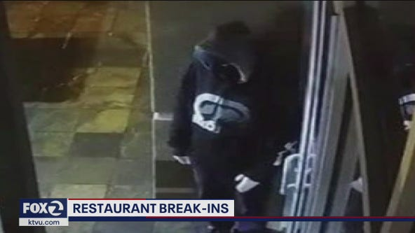 Thieves break into restaurants during shelter-in-place