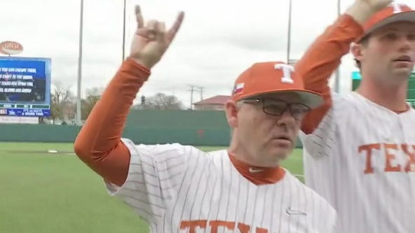 Interview with University of Texas at Austin baseball head coach David Pierce