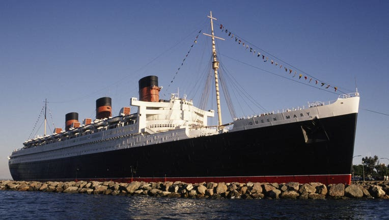 Long Beach's Queen Mary Tourist Attraction & Hotel