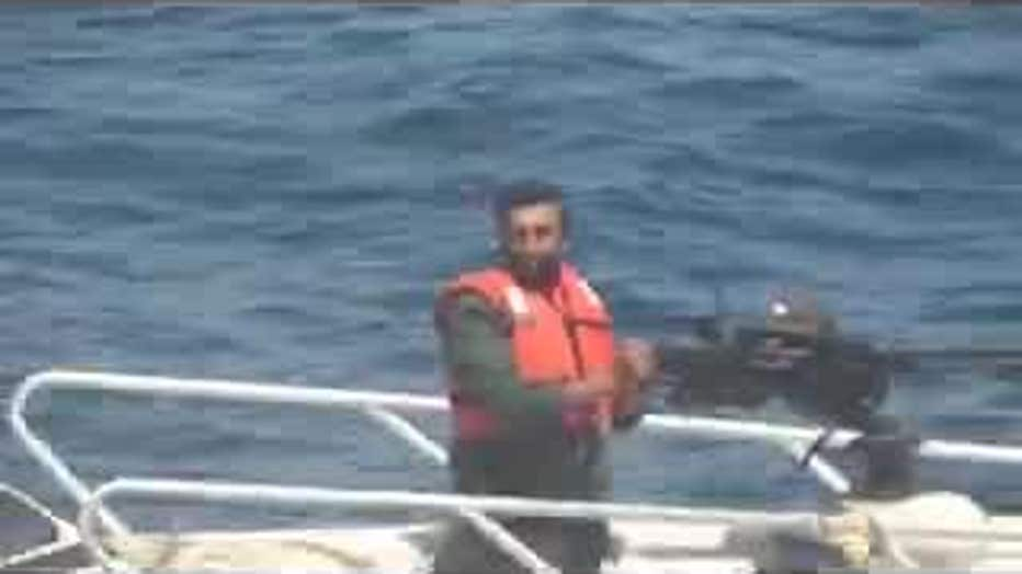 Iranian gunboat