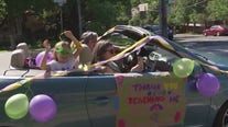 Elementary school teachers find a special way to say goodbye to their students