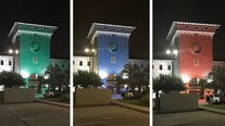 City Hall in Cedar Park will be lit to honor class of 2020