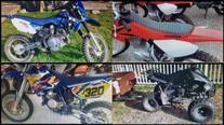 Round Rock police investigating dirt bike, ATV thefts