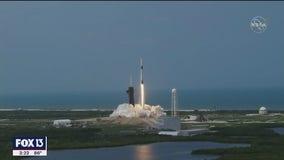Liftoff: NASA and SpaceX make history