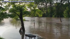 Creeks, rivers across Central Texas fill with rain over Memorial Day weekend