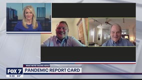FOX 7 Discussion: Pandemic report card