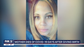 Chicago woman tests positive for COVID-19 after childbirth, is released and dies days later