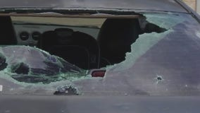 Hail storm in Georgetown damages homes, vehicles