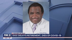 Doctor who delayed his retirement to help fight COVID-19 dies of virus