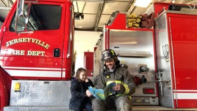Firefighter encourages reading during COVID-19 quarantine