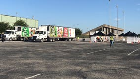 Central Texas Food Bank holds distribution event as need continues