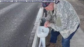 Atlanta nonprofit distributes portable sinks in Austin to help homeless wash their hands