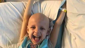 Michigan girl, 5, honored with parade after beating cancer