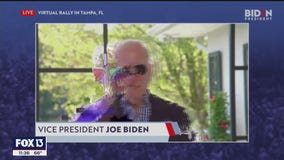 Biden's virtual rally for Tampa falters, plagued by technical issues