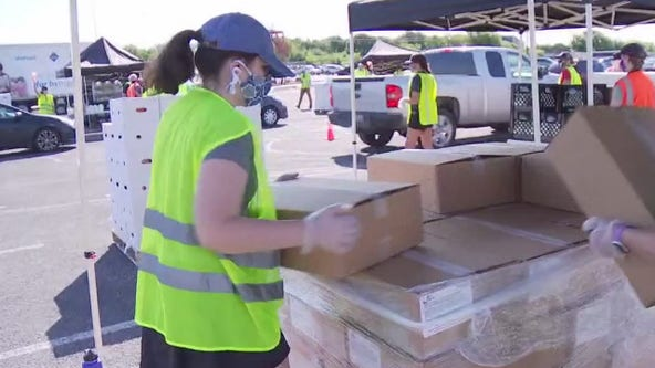 Thousands of Central Texas families dealing with food insecurity