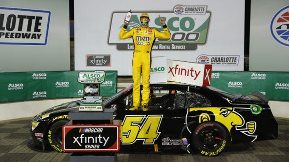 Busch passes Cindric in OT to win Xfinity race at Charlotte