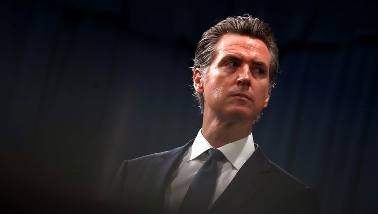 0a5bfd91-California Governor Gavin Newsom And Attorney General Becerra Announce Legal Action On Immigration