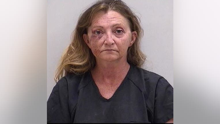 KIMBERLY ROBERTS ARRESTED