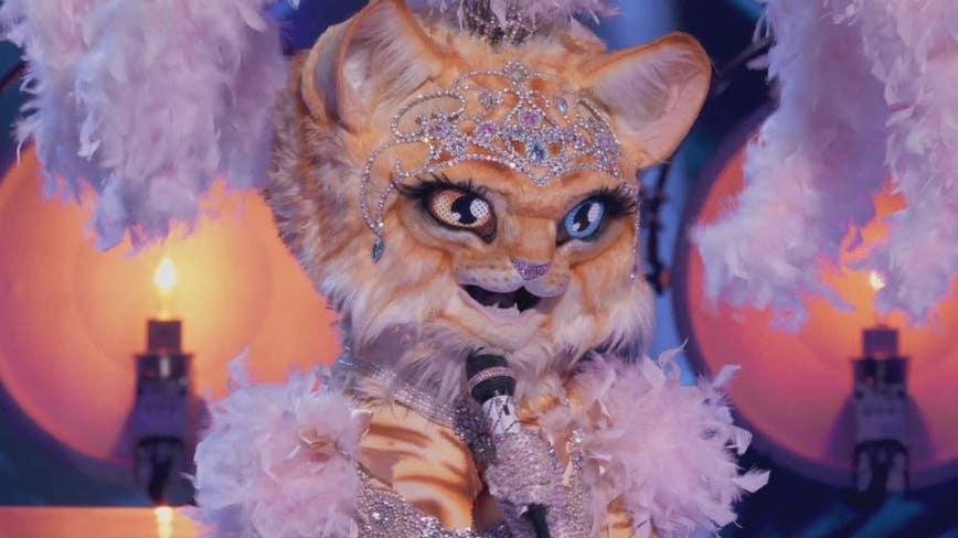 Platinum-selling opera singer revealed as Miss Kitty on 'The Masked Singer'
