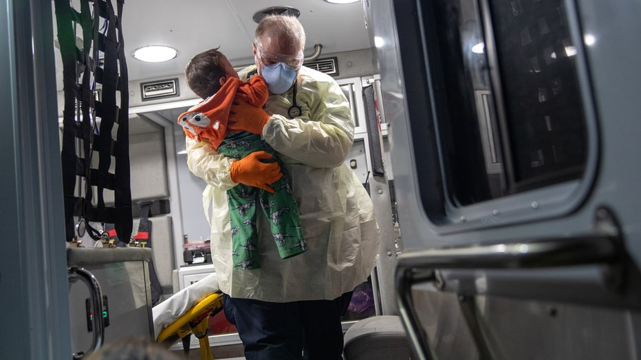 Tri-State EMS Workers Confront Growing Number Of Coronavirus Cases