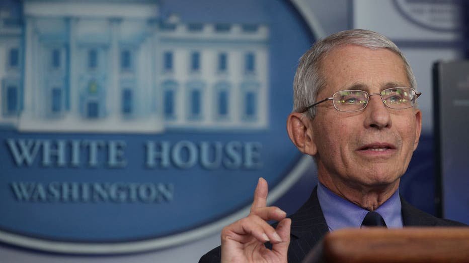 cd9b8e3a-The White House Holds Daily Briefing On Coronavirus Pandemic