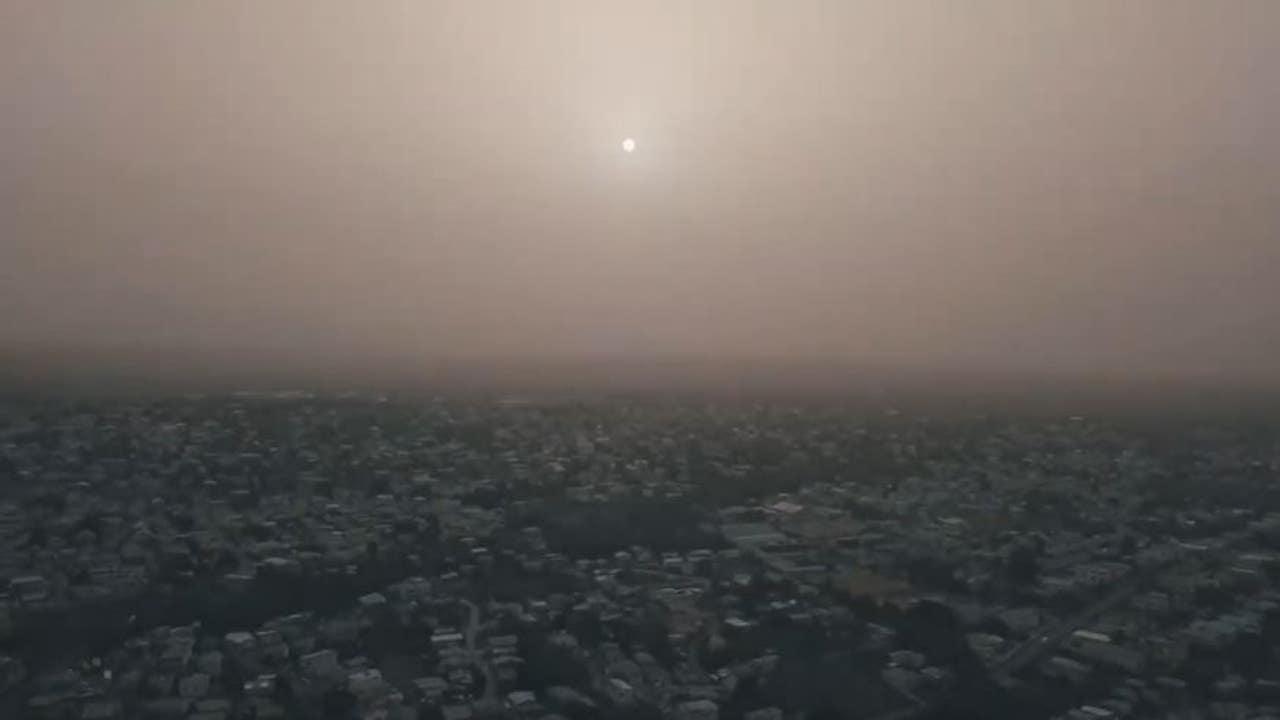 Sahara Dust Blankets Caribbean  Air Quality Hazardous