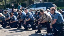 Georgia state trooper tells protesters in viral video: 'I only kneel for ... God'