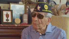 FOX 7 Care Force: Thousands surprise veteran in Round Rock for his 100th birthday
