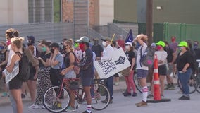 Hundreds march from East Austin to the Texas State Capitol