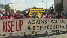 Protesters march in Philly; more than 2 dozen arrested at Municipal Services Building