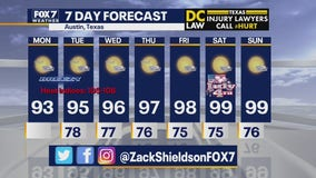 Noon weather forecast for June 29, 2020