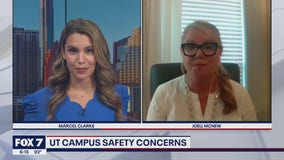 FOX 7 Discussion: Safehorns on UT campus safety
