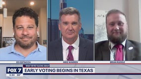 FOX 7 Discussion: Early voting begins in Texas