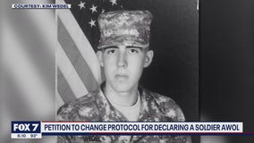 FOX 7 Discussion: Petition to change protocol for declaring a soldier AWOL
