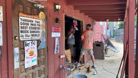 Thieves drive into Broken Spoke dance hall, steal ATM