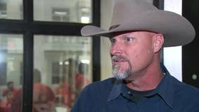Pinal County Sheriff Mark Lamb says he has tested positive for COVID-19
