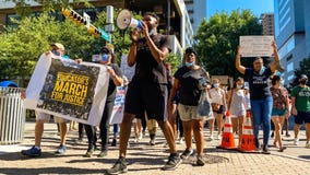 Educators gather to protest police brutality, advocate for Black Lives Matter movement