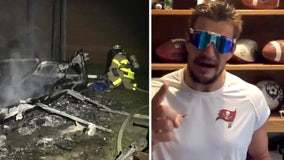 Gronkowski, Buccaneers to replace football gear lost in Blake High shed fire