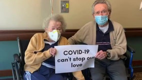 Indianapolis couple separated by COVID-19 reunited after weeks apart