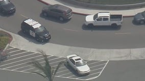 Driver detained after police pursuit ended in El Monte, California