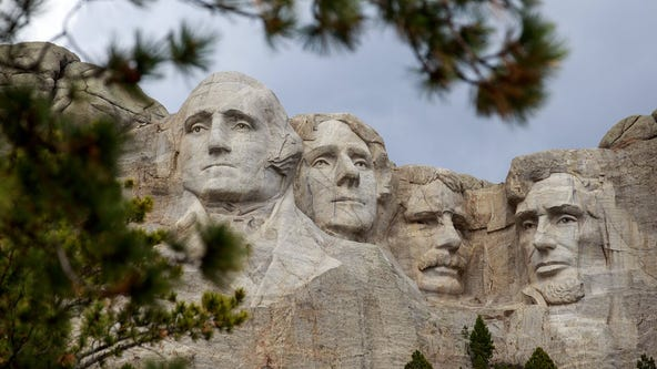 'We won't be social distancing,' South Dakota governor says of Trump's Mount Rushmore event