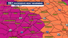 Possible record-breaking heat prompts excessive heat warnings