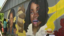 Mural in honor of Vanessa Guillen, Breonna Taylor goes up in Austin