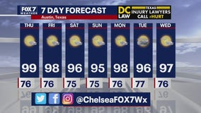 Evening weather forecast for July 15