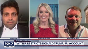 FOX 7 Discussion: Twitter restricts Donald Trump Jr's account