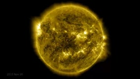 NASA releases mesmerizing 10-year timelapse footage of sun