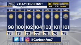 Noon weather forecast for July 9, 2020